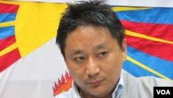西藏青年會秘書長 丹增諾桑
