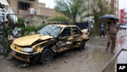 3일 이라크 바그다드 북부에서 차량 폭탄테러가 발생했다.