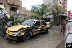 2月3日在巴格达发生了汽车炸弹爆炸事件