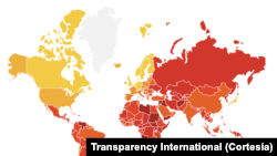 Corruption map