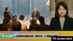 VOA连线(李逸华):必要时对朝鲜动武?美议员:川普是认真的