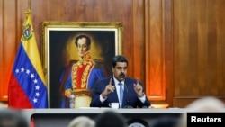 En una comparecencia televisada el jueves 27 de febrero, el presidente en disputa de Venezuela, Nicolás Maduro, anunció la creación de Cuerpo Nacional Especial Antiterrorismo de Venezuela.