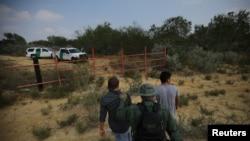 AQSh chegarasida ushlangan meksikaliklar