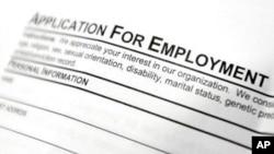 El Departamento de Trabajo de EE.UU. reportó un leve aumento en las solicitudes de beneficio por desempleo el jueves, 24 de agosto de 2017.