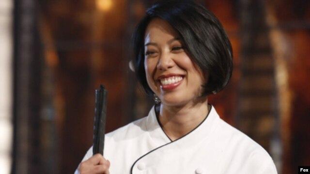 Christine Hà trong trong vòng chung kết của cuộc thi Vua Đầu Bếp - Ảnh do Fox cung cấp