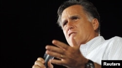 Mitt Romney visitó Nashua, en New Hampshire, este viernes para realizar actos de campaña.