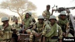 Lực lượng đặc biệt của Niger chuẩn bị giao chiến với phe Boko Haram ở Diffa, ngày 26/3/2015.
