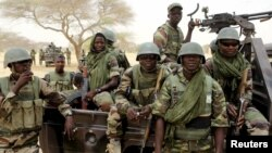 FILE - Niger's special forces prepare to fight Boko Haram in Diffa, March 26, 2015.
