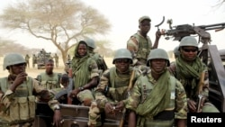 File - Niger's special forces prepare to fight Boko Haram in Diffa, Niger, March 2015.