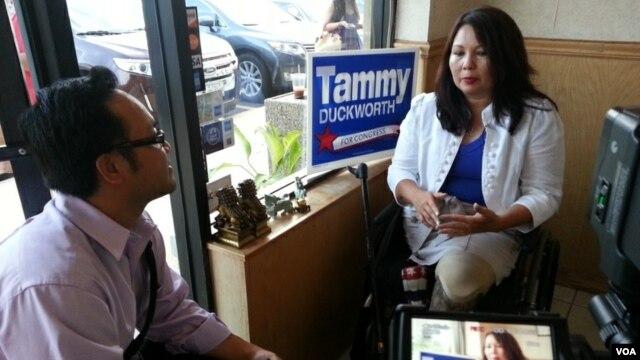 VOA Thai Interview Tammy Duckworth