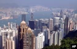 Những tòa nhà chọc trời ở Hong Kong