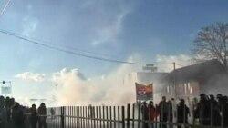 تجمع اعتراضی در کوسوو