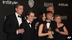 La 72ème édition des Golden Globes à Hollywood dimanche soir (AP)