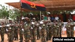 Les forces armées angolaises