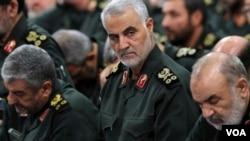 Qassem Soleimani, antigo homem forte da inteligência iraniana