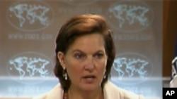 빅토리아 눌런드 미국무부 대변인 (자료사진)