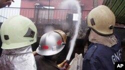 Explosion dans une station-service à Accra, Ghana
