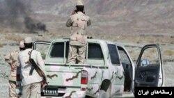 عکس آرشیوی از نیروهای مرزی ایران در مرز عراق
