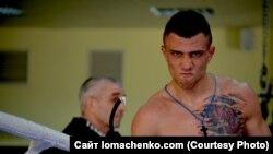 Василь Ломаченко з батьком Анатолієм