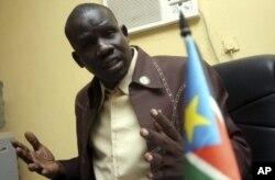 Yien Matthew Chol, SPLM's Spokesman.