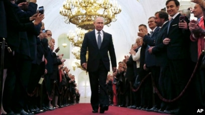 Russia S Putin Sworn In For 4th Term As President