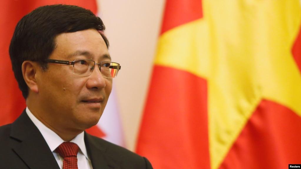 Tư liệu: Phó Thủ Tướng/ Bộ trưởng Ngoại giao VN Phạm Bình Minh. REUTERS/Kham