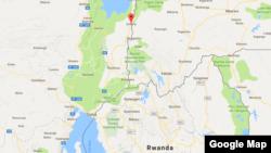 Ishasha, près de Goma, en RDC.