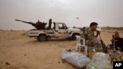 Des soldats libyens de l'armée du gouvernement internationalement reconnu.