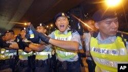 香港警察 (資料圖片)