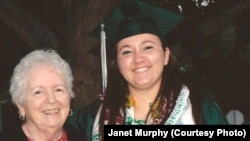 Janet Murphy will celebrate her 21st birthday on February 29. She will be the same age as her granddaughter