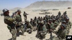 بامیان میں سلامتی کی ذمہ داریاں افغان فورسز کو منتقل