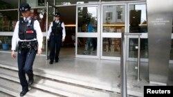 Polisi di Hammersmith, London, Inggris, 27 Juni 2016. (Foto: dok).
