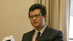 郭飞雄在上海浦东宣布绝食抗议当局不准出关