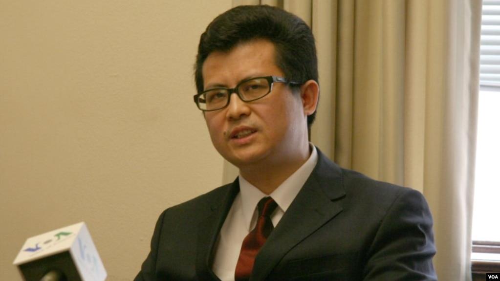 资料照片:中国维权人士郭飞雄