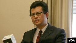 資料照片:中國維權人士郭飛雄