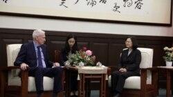 蔡英文会莫健:美国一直支持台湾 台湾也会支持美国