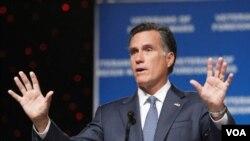 Mantan Gubernur Massachusetts, Mitt Romney, kontestan kuat calon presiden Presiden dari partai Republik (foto:dok).