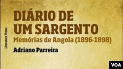 """Capa do livro """"Diario de um Sargento"""" (Adriano Parreira)"""