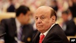 عبد ربه منصور هادی رئیس جمهوری قانونی یمن - آرشیو