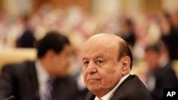 Madaxweynaha Yemen Abed Rabbo Mansour Hadi,