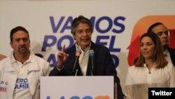 El 2 de abril, Lasso perdió la segunda vuelta electoral por un margen estrecho frente al candidato oficialista Lenín Moreno, un aliado cercano del actual presidente Rafael Correa.