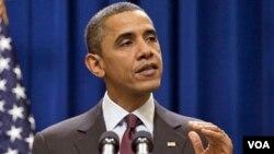 Presiden Barack Obama: krisis ekonomi AS seharusnya mengilhami pertumbuhan sebuah ekonomi baru.