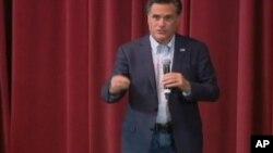 """ກະຊວງການຕ່າງປະເທດຈີນ ກ່າວວ່າ ຄໍາເຫັນຂອງທ່ານ Mitt Romney ກ່ຽວກັບຈີນ ເປັນຄໍາເວົ້າທີ່ """"ບໍ່ມີຄວາມຮັບຜິດຊອບ."""""""