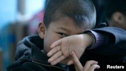 Bé trai bị hội chứng tự kỷ ở Bắc Kinh, Trung Quốc. (Ảnh tư liệu)