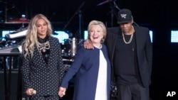 Jay Z, Beyonse və Klinton