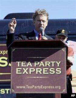 """Le républicain Rand Paul du Kentucky a remporté un siège au Sénat avec l'appui du mouvement """"Tea Party"""""""