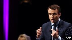Francuski predsednički kandidat Emanuel Makron