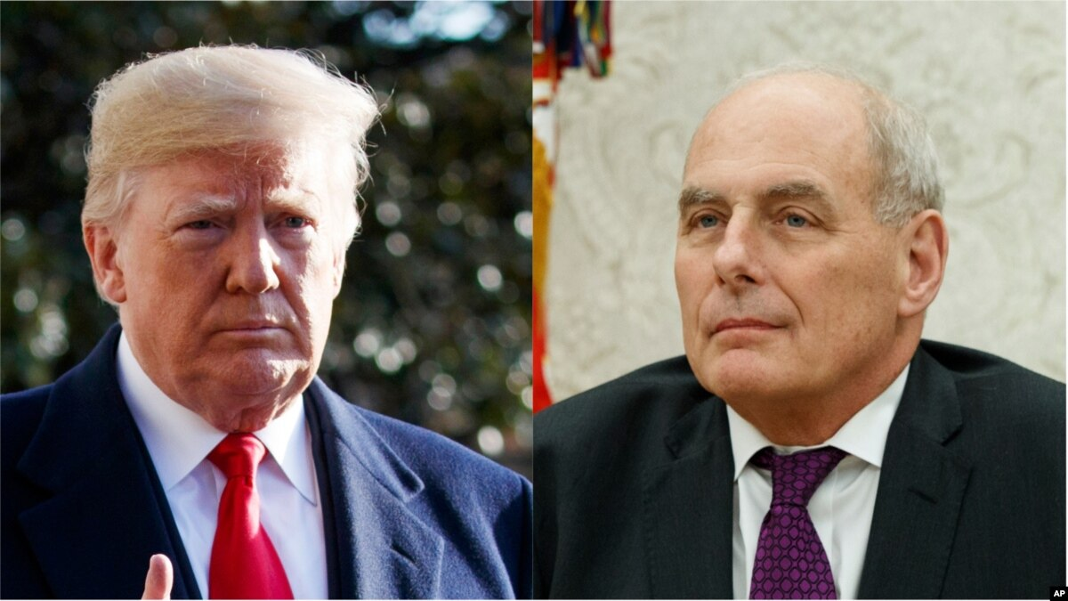 Trump Announces Departure of Chief of Staff Kelly
