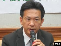 台灣執政黨民進黨立委林俊憲(美國之音張永泰拍攝)