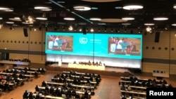 ARSIP - Pemandangan umum negosiasi perubahan iklim di Bonn, Jerman, 10 Mei 2018 (foto: REUTERS/Alister Doyle)